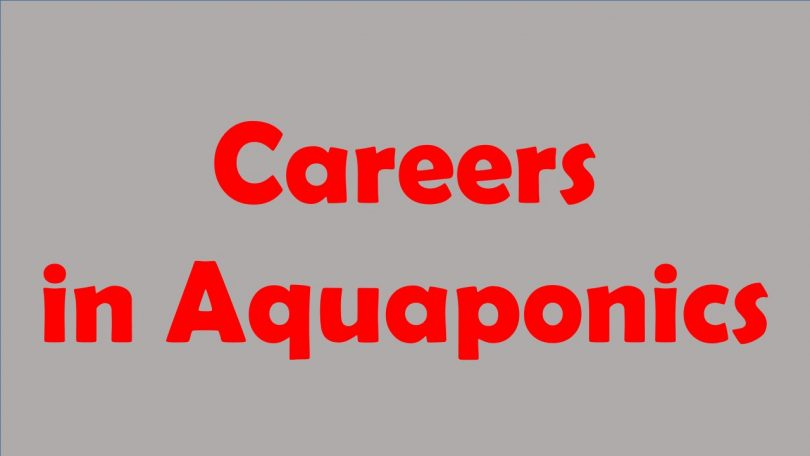 careers in aquaponics